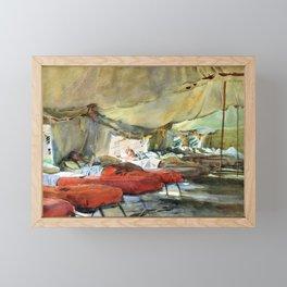 John Singer Sargent - Late in September - Digital Remastered Edition Framed Mini Art Print