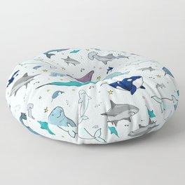 Under the Sea Floor Pillow