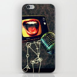 Stage Hype iPhone Skin