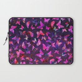 Butterfly Forest Purple Laptop Sleeve