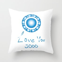 Love u 3000 Throw Pillow