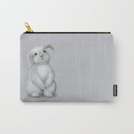 White Rabbit Boy Carry-All Pouch