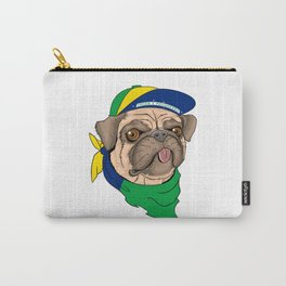 Pug Brazil Carry-All Pouch