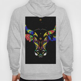 Cattle in the wind by #Bizzartino Hoody