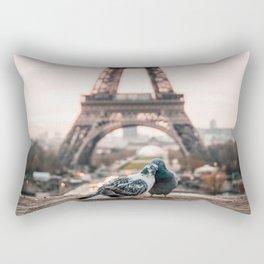Romantic City Rectangular Pillow