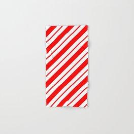Peppermint Stripes Hand & Bath Towel