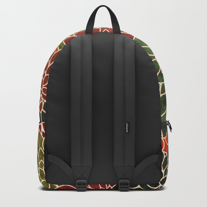 Floral Abstract 7 Backpack