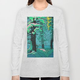 Snow Forest Long Sleeve T-shirt