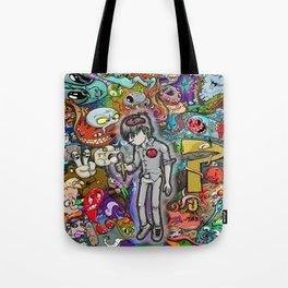 Sleeping creativity Tote Bag