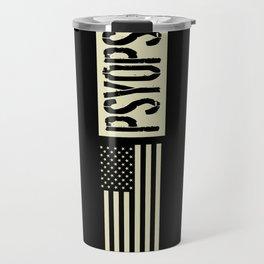 PsyOps (Black Flag) Travel Mug