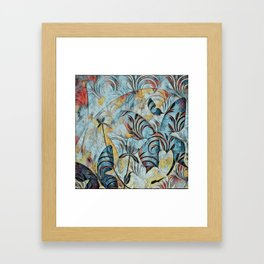 A Butterfly Abstract Framed Art Print