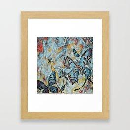 A Butterfly Abstract Framed Art Print