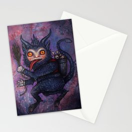 Holiday Krampus Stationery Cards