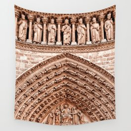 Notre Dame Mural Wall Tapestry
