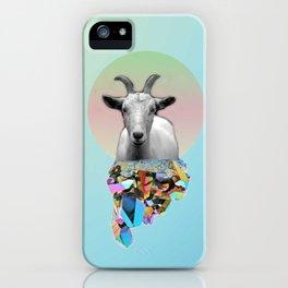 Titanium Goat iPhone Case