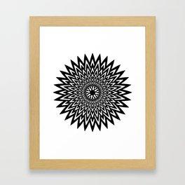 Stella Orientem Framed Art Print