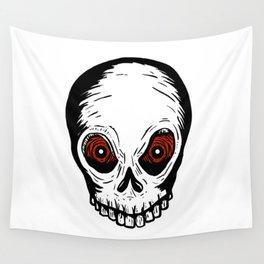 Evil Skull Wall Tapestry