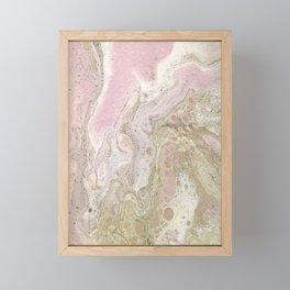 Rose Gold 3 Framed Mini Art Print