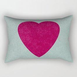 I Love You I Rectangular Pillow