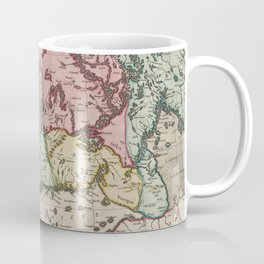 Vintage Map of Finland (1665) Coffee Mug