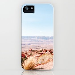 View on sunny Grand Canyon | USA travel photography iPhone Case