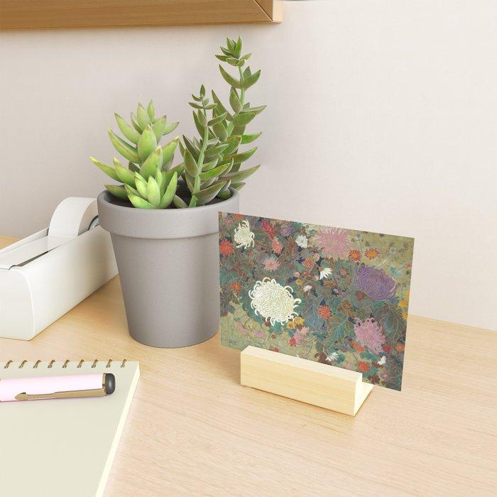 flower【Japanese painting】 Mini Art Print