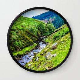 River. Wall Clock