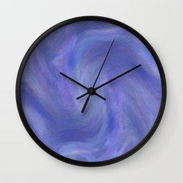 Sky Swirl Wall Clock
