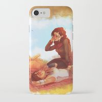 korrasami iPhone & iPod Cases featuring Picnic by noodlerface