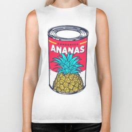 Condensed ananas Biker Tank