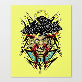 Wired Witchdoctor Canvas Print