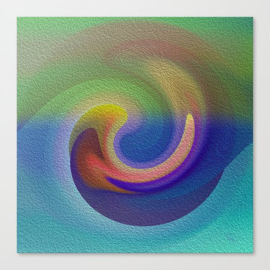 Ocean Wave Number Three Canvas Print