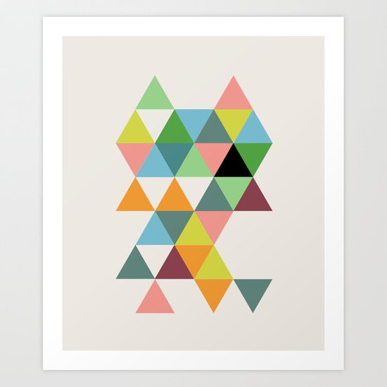 Abstract #579 Art Print