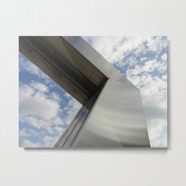 Art and Sky Metal Print
