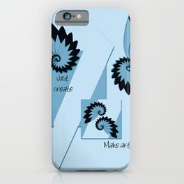 Make art iPhone Case