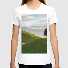 One Tree Hills, Ireland, Springtime, Emerald Isles Photograph T-shirt