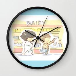 Groceries Wall Clock