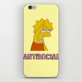 Lisa Simpson iPhone Skin