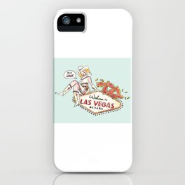 Welcome to Las Vegas Sign - National Nevada Day iPhone Case