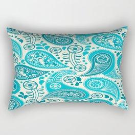Paisley Pattern Boteh Buta Droplet Abstract Rectangular Pillow