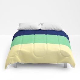 South Pacific Colorblock Stripes Comforters
