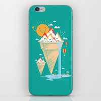island iPhone & iPod Skins featuring mystery island by Steven Toang