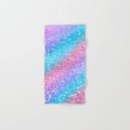 Rainbow Princess Glitter #2 #shiny #decor #art #society6 Hand & Bath Towel