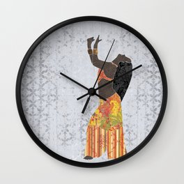 Belly dancer 11 Wall Clock