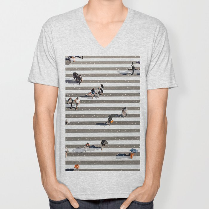 Rain Crossing Unisex V-Neck