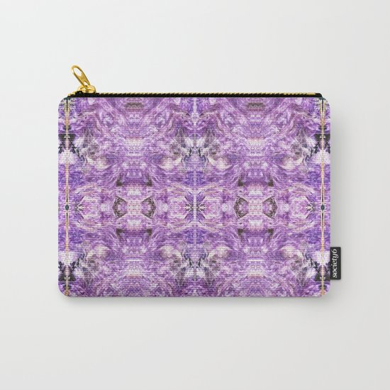 lilac stone flower Carry-All Pouch