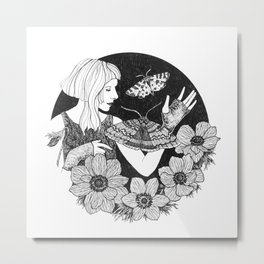 Daydreamer (Aurora Aksnes) Metal Print