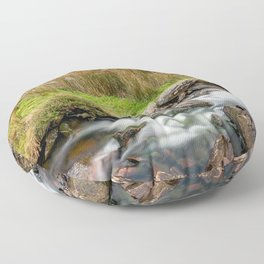 Tryfan Snowdonia National Park Floor Pillow