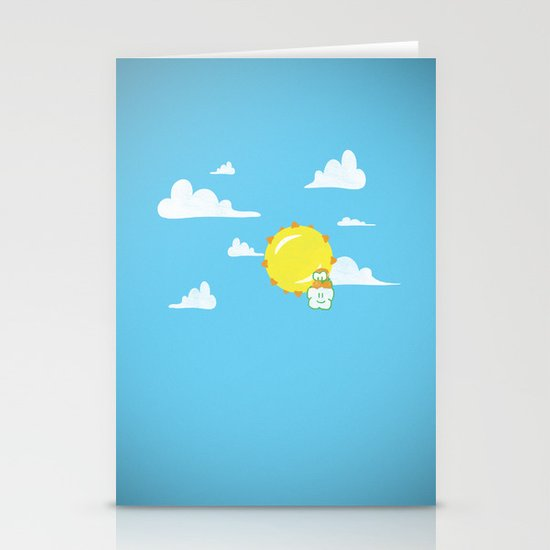 Overzealous Lakitu Stationery Cards