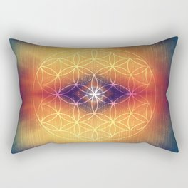 Flower of Life Rectangular Pillow